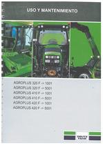 AGROPLUS 320-410-420 F - Uso y Mantenimiento