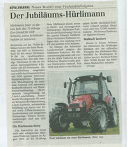 Der Jubiläums-Hurlimann