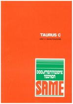 TAURUS C - Libretto uso & manutenzione