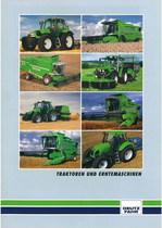 Traktoren und Erntemachinen