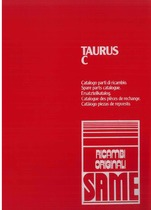 TAURUS C - Catalogo ricambi originali / Catalogue pièces d'origine / Original parts catalogue / Original Ersatzteilkatalog / Catálogo repuestos originales