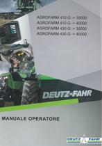 AGROFARM 410 G ->35000 - AGROFARM 410 G ->40000 - AGROFARM 430 G ->35000 - AGROFARM 430 G ->40000 - Manuale operatore