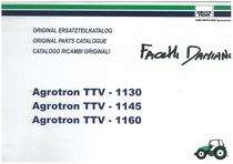 AGROTRON TTV 1130-1145-1160 - Original Ersatzteilkatalog / Original parts catalogue / Catalogo ricambi originali
