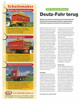 Deutz-Fahr terugin de race