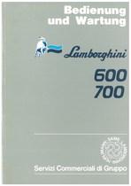 600 - 700 - Bedienung und Wartung