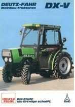DX - V 3.10 - 3.30 - 3.50 - 3.70 V Weinbau - Traktoren