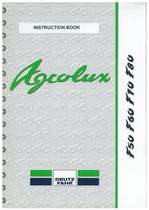 AGROLUX F 50-60-70-80 - Operating and Maintenance