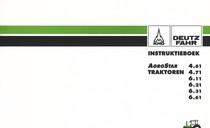 AGROSTAR 4.61 - AGROSTAR 4.71 - AGROSTAR 6.11 - AGROSTAR 6.21 - AGROSTAR 6.31 - AGROSTAR 6.61 - Instruktieboek