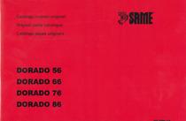 DORADO 56-66-76-86 - Catalogo ricambi originali / Original parts catalogue /Catálogo peças originais