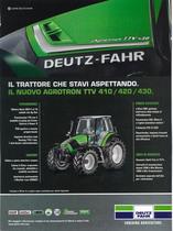 Il trattore che stavi aspettando. Il nuovo Agrotron TTv 410/420/430