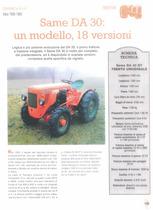 Same DA 30: un modello, 18 versioni