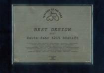 Tractor Of The Year - Best Design 2017 - Deutz-Fahr 6215 RCshift