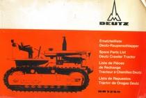 DR 1250 - Ersatzteilliste