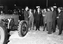 Lancio del trattore SAME Centauro alla VI Fiera Provincial del Campo di Manzanares (Spagna)