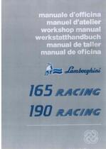 165 - 190 RACING - Werkstatthandbuch