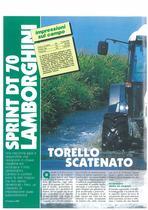 Torello scatenato: sprint DT 70 Lamborghini
