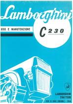 C 230 - Libretto uso & manutenzione
