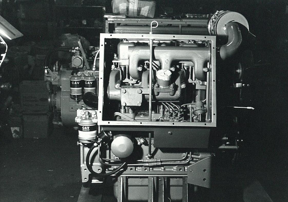 Motore SAME/ADIM per uso industriale - 3 cilindri - Particolari