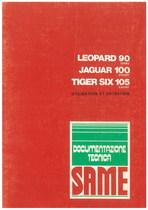 LEOPARD 90 T - JAGUAR 100 EXP - TIGER SIX 105 EXPORT - Utilisation et entretien