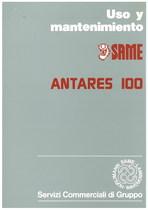 ANTARES 100 - Uso y manutencion
