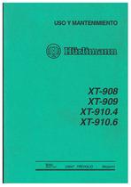 XT 908-909-910.4-910.6 - Uso y Mantenimiento