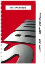 IRON 200 - 200 CLASSIC- Uso e manutenzione