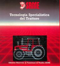 TECNOLOGIA SPECIALISTICA DEL TRATTORE