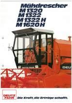 DEUTZ-FAHR M 1320 - 1320 - M 1322 - M 1322 H