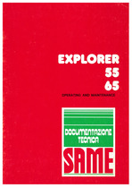 EXPLORER 55-65 - Operating and maintenance