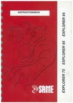 EXPLORER 75-85-95 - Instruktionsbog