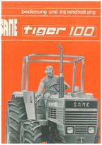 TIGER 100 - Bedienung und wartung