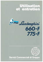 660-F/775-F - Utilisation et Entretien
