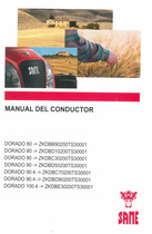 DORADO 80 ->ZKDBB90200TS30001 - DORADO 80 ->ZKDBD10200TS30001 - DORADO 90 ->ZKDBC30200TS30001 - DORADO 90 ->ZKDBD50200TS30001 - DORADO 90.4 ->ZKDBC70200TS30001 - DORADO 90.4 ->ZKDBD90200TS30001 - DORADO 100.4 ->ZKDBE30200TS30001 - Manual del conductor