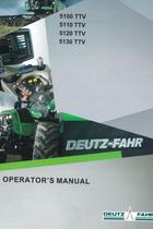 5100 TTV - 5110 TTV - 5120 TTV - 5130 TTV - Operator's manual