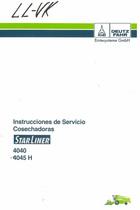 STARLINER 4040 - STARLINER 4045 H - Instrucciones de servicio