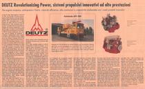 DEUTZ Revolutionizing Power, sistemi propulsivi innovativi ad alte prestazioni