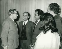 F. Cassani con una delegazione sudamericana
