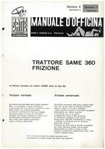SAME 360 - Manuale di officina