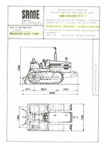 Atto di omologazione della trattrice SAME Explorer 75 C