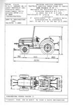 Atto di omologazione della trattrice SAME Solaris 35 DT e versione derivata
