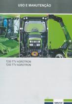 7230 TTV AGROTRON - 7250 TTV AGROTRON - Uso e manutençao