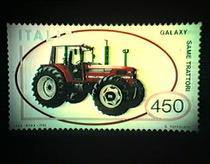 Emissione francobollo SAME Galaxy 170