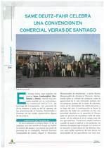 SAME Deutz-Fahr celebra una convencion en comercial veiras de Santiago