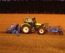 [Deutz-Fahr] trattore Agrotron 165 con ripuntatore, erpice e seminatrice