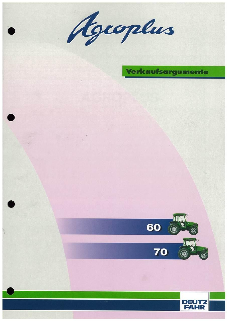 Agroplus - Verkaufsrgumente - 60-70