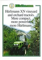 HUERLIMANN XN VINEYARD AND ORCHARD TRACTORS