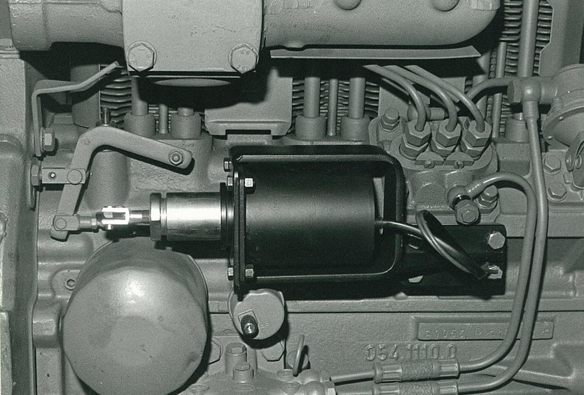 MOTORE Industriale ADIM 105 a 3 cilindri - Particolari