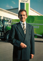 Klaus-Detlef Schenk, Amministratore Delegato di Deutz-Fahr Agrarsysteme GmbH