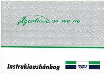 AGROTRON 90-100-110 - Bruger-og vedligeholdelsesvejledning