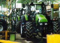 Stabilimento Deutz-Fahr a Lauingen - Linea di montaggio trattori
